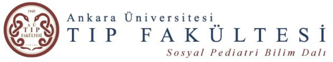 Ankara Üniversitesi Tıp Fakültesi Çocuk Koruma Birimi – AÇOK –   Ankara University Faculty of Medicine Child Protecion Center